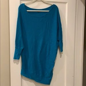 Long sleeve, teale sweater